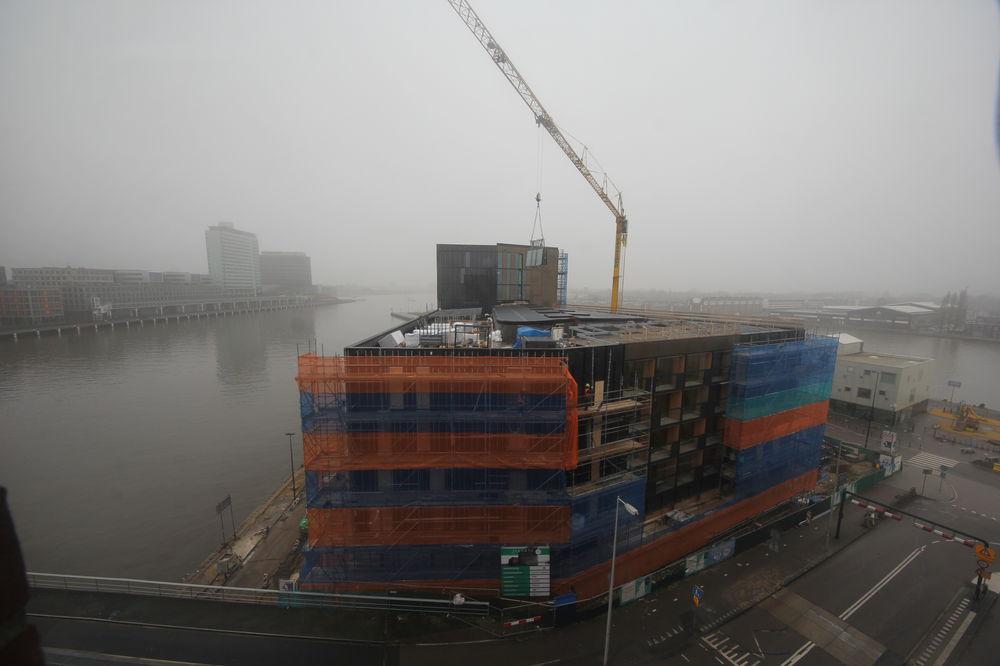 Volg de bouw van Hotel Jakarta Amsterdam by WestCord
